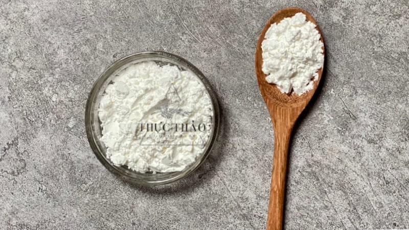 Tinh bột bắp mịn, nguyên chất dùng trong thực phẩm