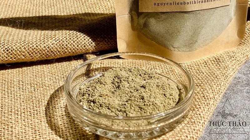 Chất bột mịn, mùi thơm đặc trưng