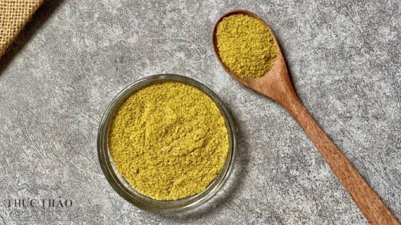 Chất bột bơ tại Thực Thảo mịn, dùng dưỡng ẩm cho da
