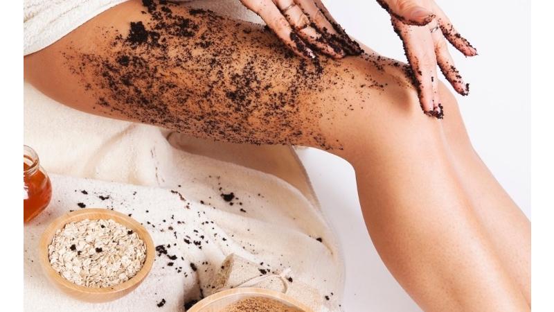 Tẩy da chết với bột cà phê