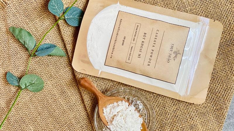 Tại Thực Thảo có sẵn bột khoai mì với độ mịn cao, sử dụng nhiều mục đích