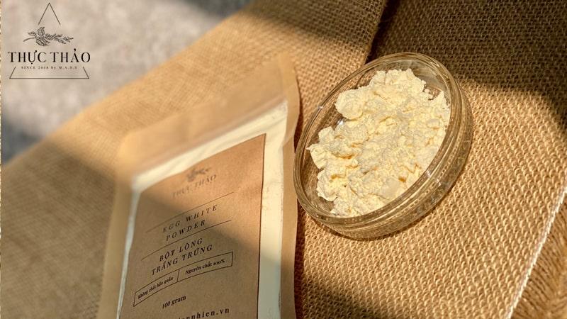 Thực Thảo cung cấp bột lòng trắng trứng 100% nguyên chất