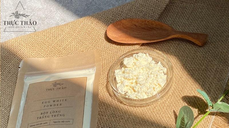 Lòng trắng trứng có nhiều ứng dụng trong thực phẩm