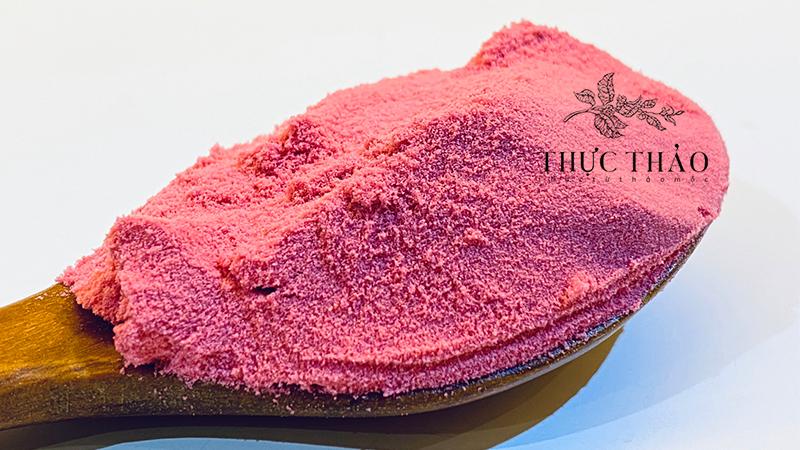 Bột hoa anh đào 100% nguyên chất tại Thực Thảo có giá trị làm đẹp lẫn ăn uống