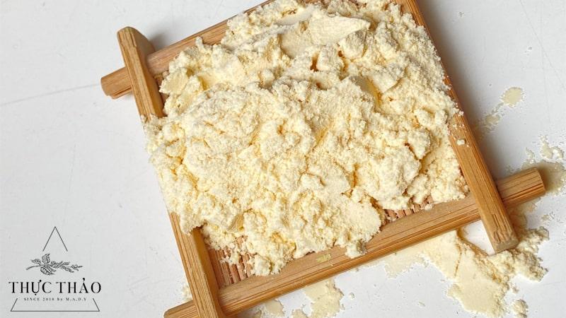 Bột trái thơm 100% nguyên sử dụng như bột thực phẩm