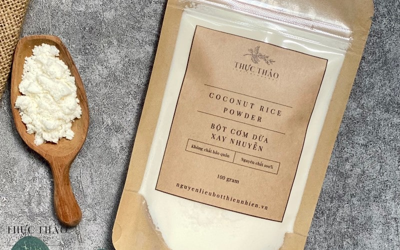 Bột dừa sữa Thực Thảo dùng được cho làm đẹp và chế biến thực phẩm