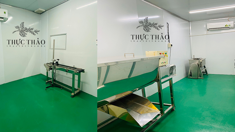 Các loại máy phục vụ cho quá trình sản xuất bột thiên nhiên tại Thực Thảo