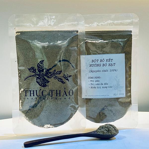 Bột bồ kết nướng bỏ hạt tại Thực Thảo