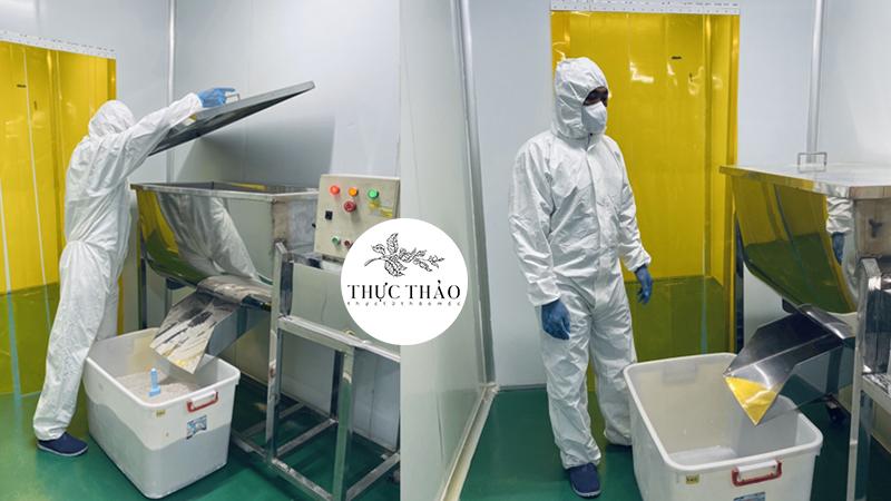 Sản xuất bột thiên nhiên theo quy trình khép kín, trang thiết bị hiện đại