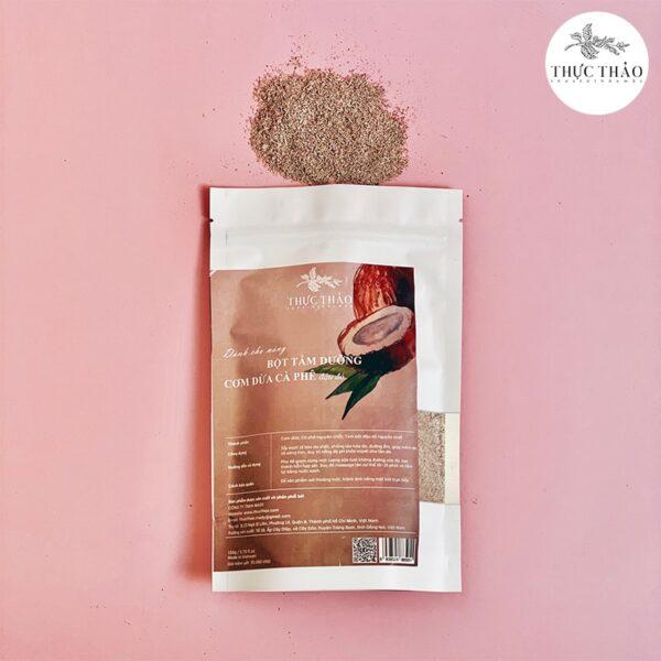 Bột tắm dưỡng tẩy tế bào chết body cơm dừa cà phê mix đậu đỏ