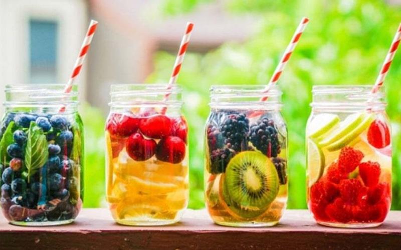 Nước uống giải khát và giải nhiệt cho mua hè
