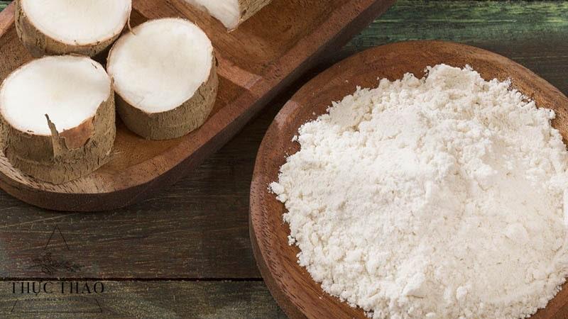 Tinh bột khoai mì hay còn gọi là bột năng được sử dụng nhiều trong cuộc sống