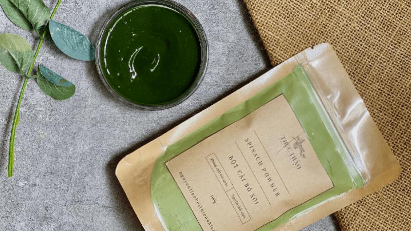 Chất bột xanh đậm mang lại giá trị dinh dưỡng cao