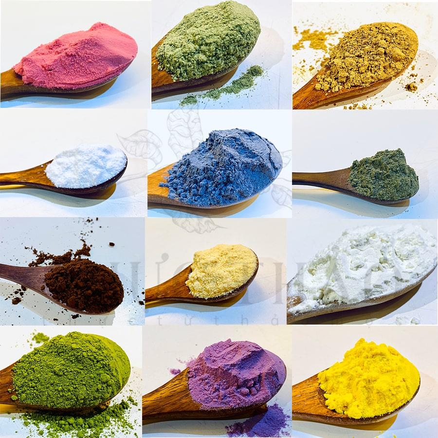 Thực Thảo địa chỉ cung cấp hơn 100 loại bột thiên nhiên nguyên chất