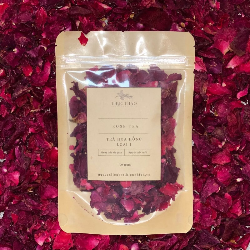 Tùy theo sở thích mỗi người mà bạn có thể chọn màu cánh trà hoa hồng đỏ hay hồng