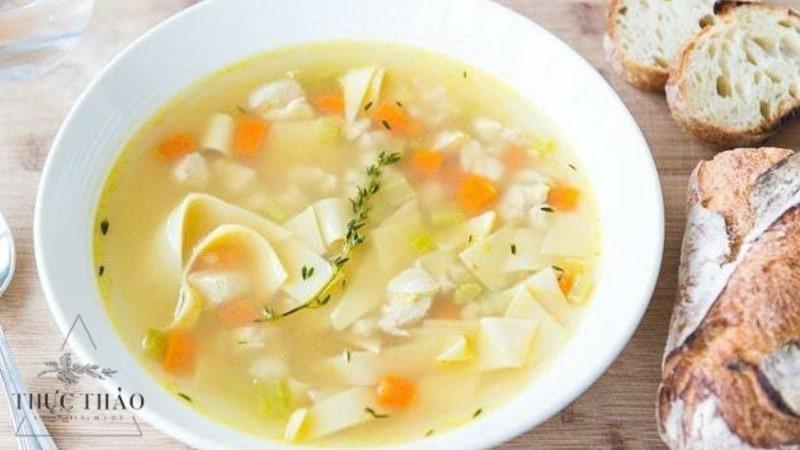 Sử dụng bột ngô tạo độ sánh cho các món chè, súp