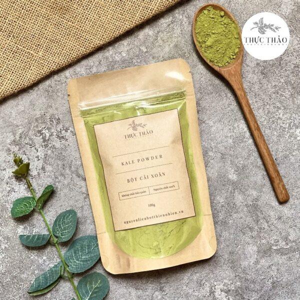 Bột cải xoăn kale nguyên chất, dùng trong ăn uống Thực Thảo