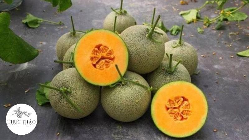 Dưa lưới là loại quả nhiệt đới được yêu thích nhất mùa hè