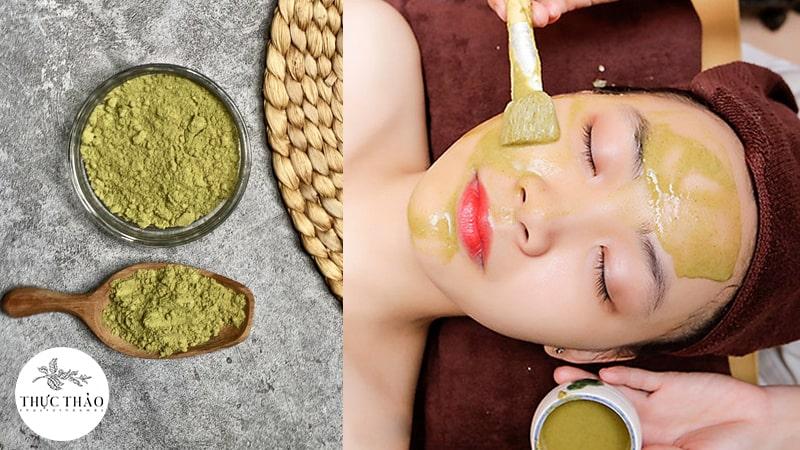 Mặt nạ chăm sóc da mụn từ bột lá hương thảo