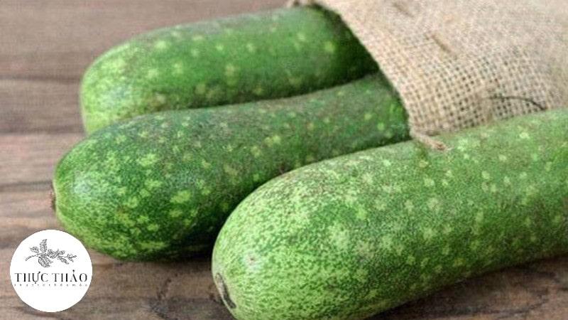 Bí đao là loại rau củ quả thanh mát, dùng trong bữa ăn hằng ngày