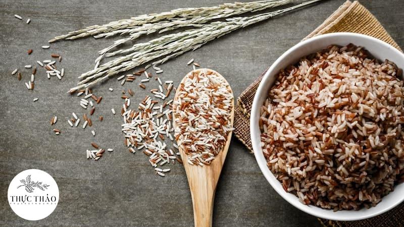 Gạo lứt phù hợp với những người ăn chay nhưng không lo thiếu chất