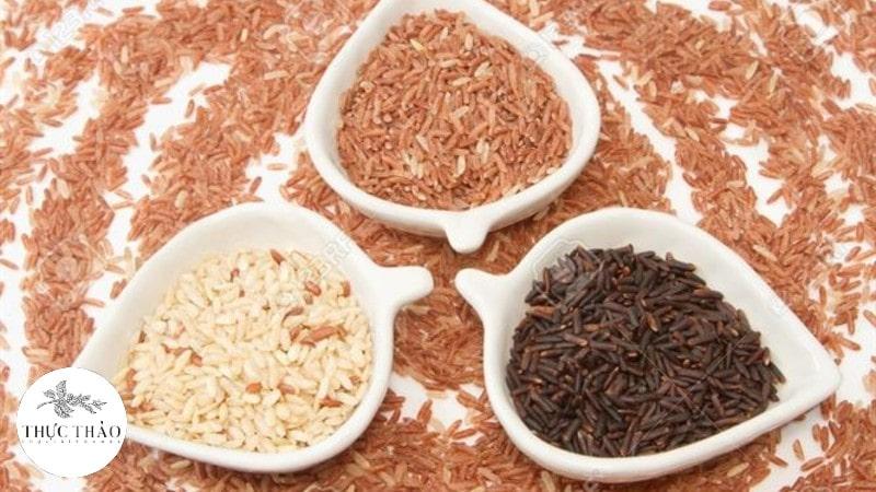 Ở mỗi loại gạo lứt khác nhau sẽ mang những giá trị dinh dưỡng khác nhau